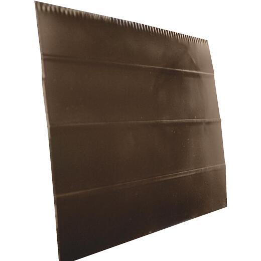 Klauer 6 In. x 12 Ft. 0.024 In. Ribbed Aluminum Fascia