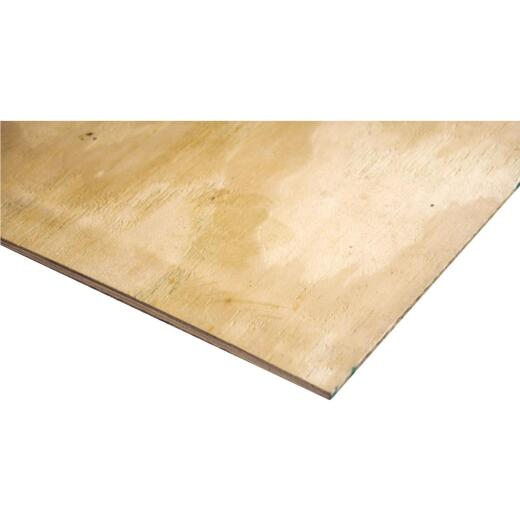 Universal Forest Products 3/8 In. x 24 In. x 48 In. BCX Pine Plywood