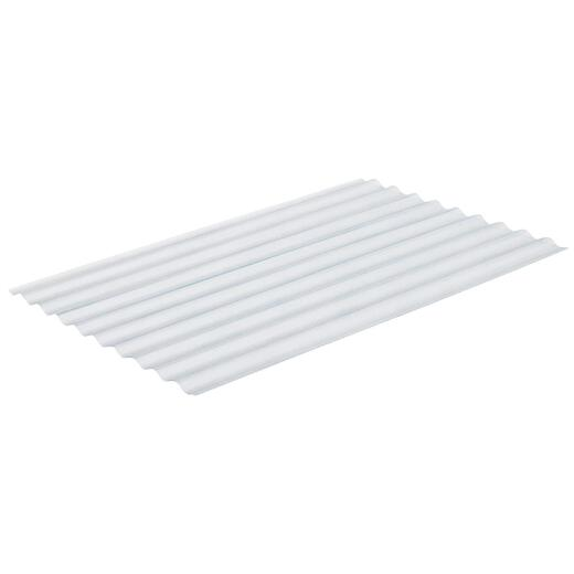 Sequentia Super600 26 In. x 8 Ft. Clear Round Fiberglass Corrugated Panels