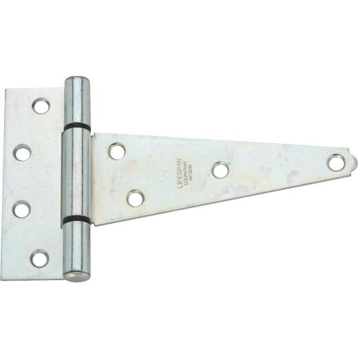 National 6 In. Zinc-Plated Steel Heavy-Duty Tee Hinge