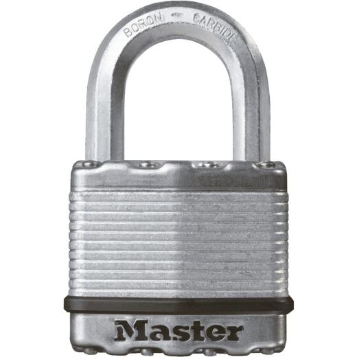 Master Lock Magnum 2 In. W. Dual-Armor Keyed Different Padlock with 1 In. L. Shackle