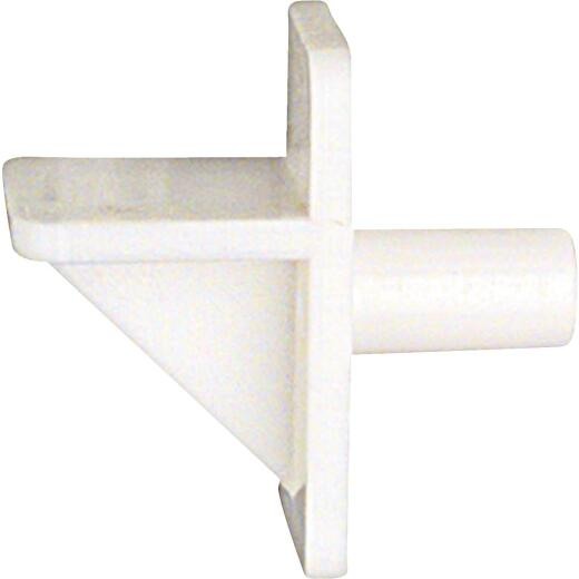 National 159 1/4 In. White Plastic Shelf Support