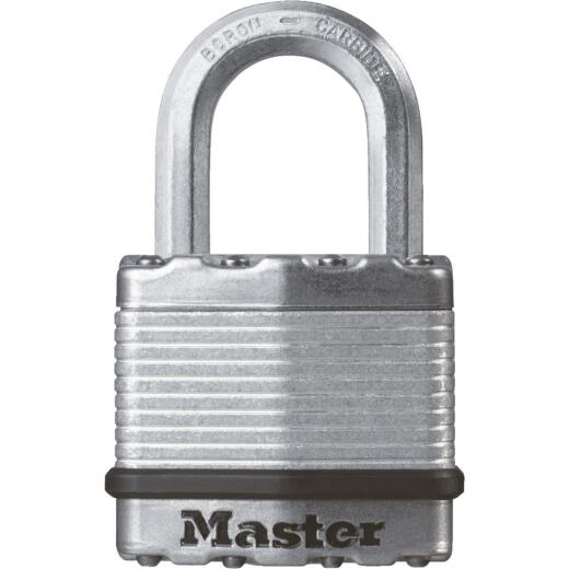 Master Lock Magnum 1-3/4 In. W. Dual-Armor Keyed Alike Padlock with 1 In. L. Shackle