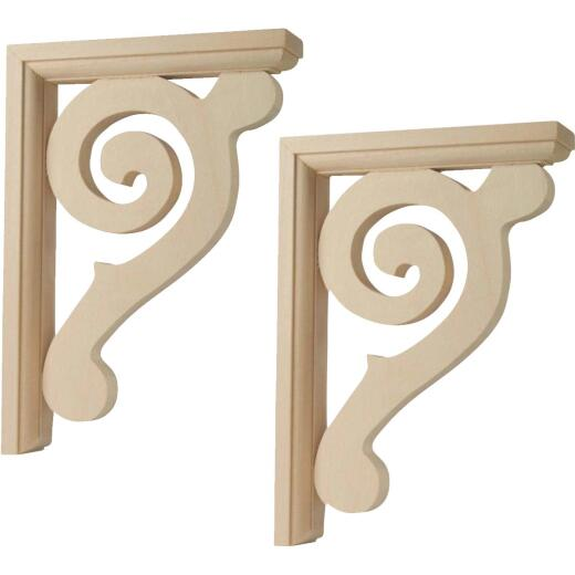Waddell Crescent Corbel (2 Count)