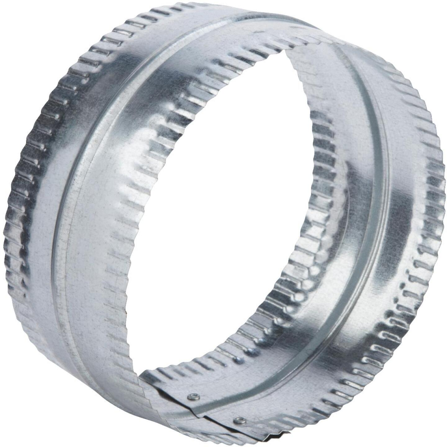 Lambro 5 In. Galvanized Steel Flexible Duct Connector Image 1
