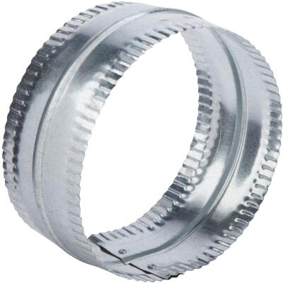 Lambro 6 In. Galvanized Steel Flexible Duct Connector