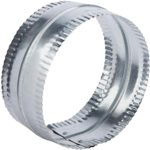 Lambro 8 In. Galvanized Steel Flexible Duct Connector