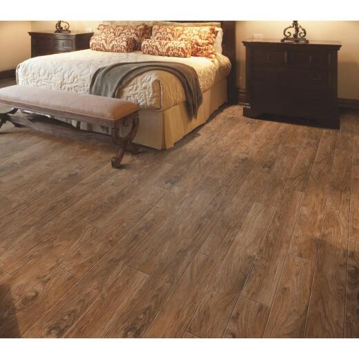 Balterio Heritage Nutmeg Hickory 5.28 In. W x 49.49 In. L Laminate Flooring (21.76 Sq. Ft./Case)
