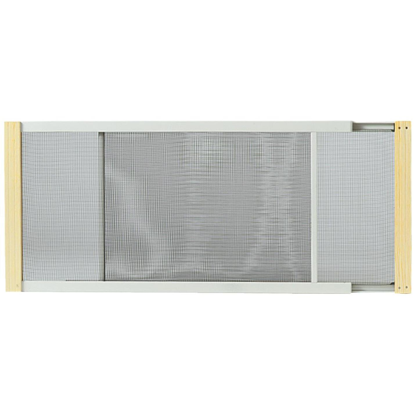 W.B. Marvin 10 In. x 21-37 in. Adjustable Window Screens by Frost King Image 2