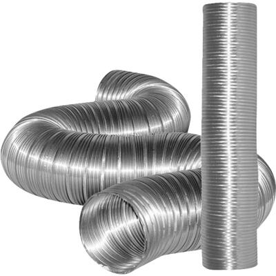 Dundas Jafine 5 In. x 8 Ft. Aluminum Semi-Rigid Dryer Duct
