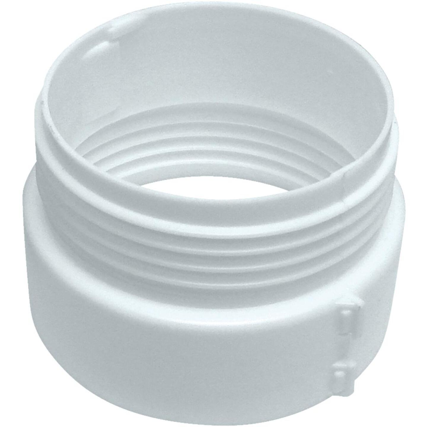 Lambro 4 In. Plastic Duct Connector Image 1