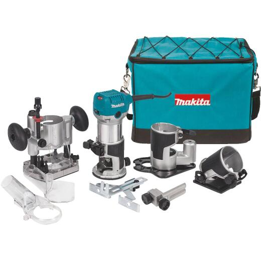 Makita 6.5A 10,000 to 30,000 rpm Router Kit