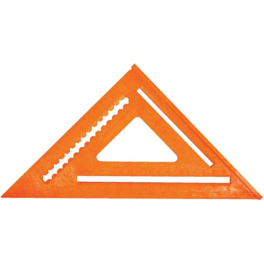 Johnson Level 12 In. Plastic Structo-Cast Rafter Square