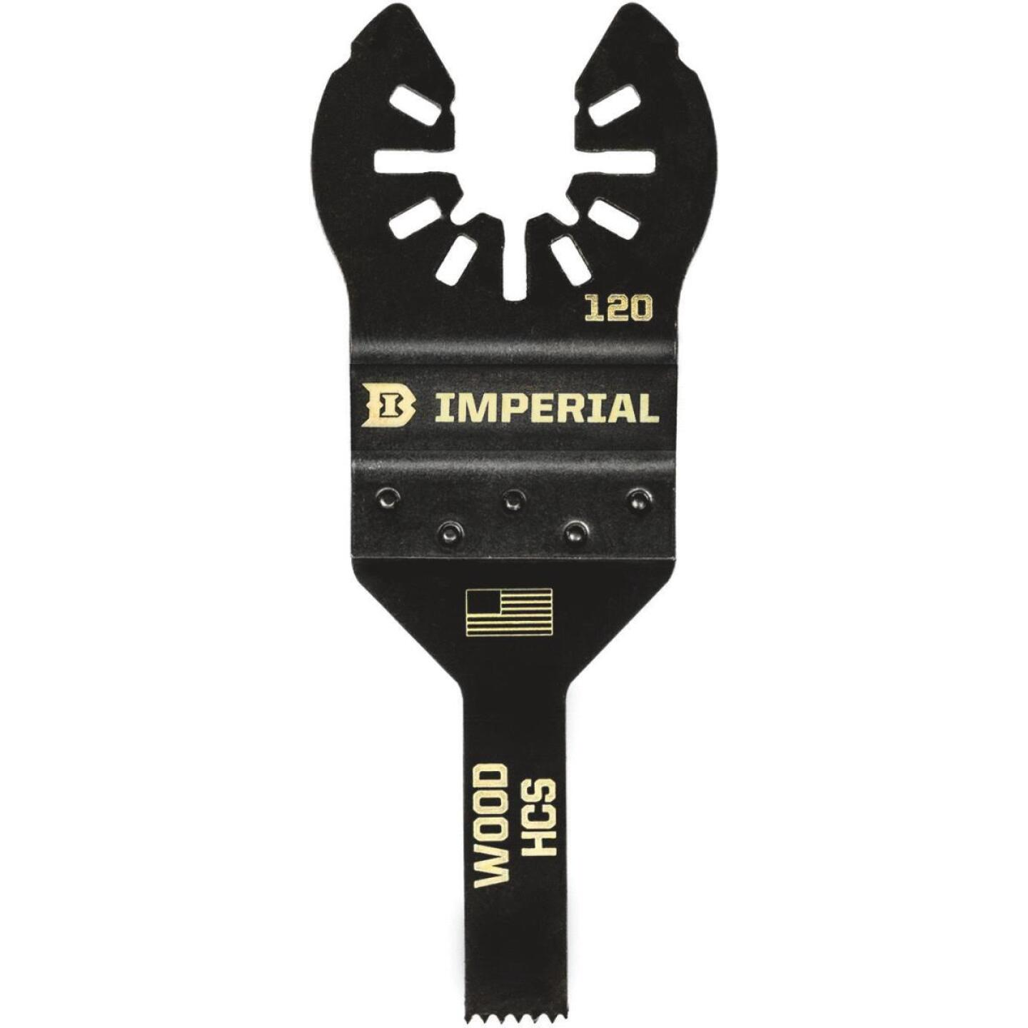 Imperial Blades One Fit 3/8 In. High Carbon Steel Detail Oscillating Blade Image 1