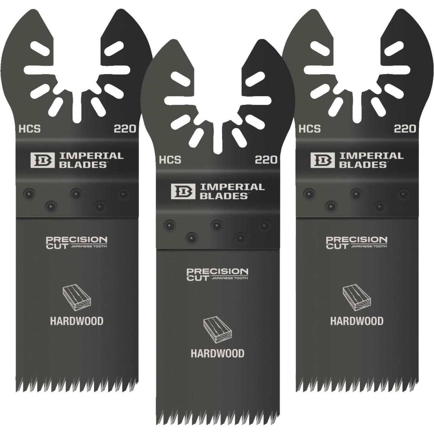 Imperial Blades One Fit 1-1/4 In. High Carbon Steel Japanese Precision Oscillating Blade Image 1