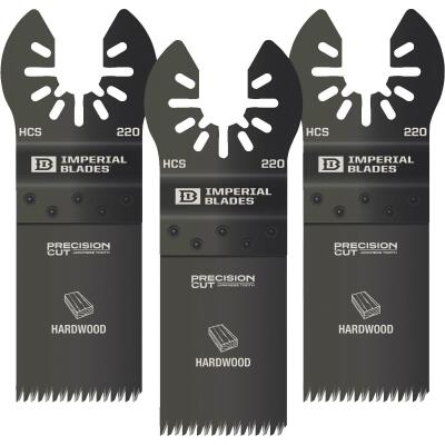 Imperial Blades One Fit 1-1/4 In. High Carbon Steel Japanese Precision Oscillating Blade