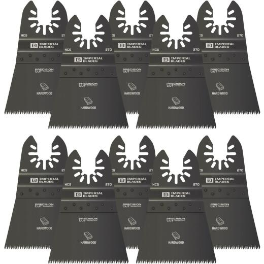 Imperial Blades One Fit 2-1/2 In. High Carbon Steel Japanese Precision Oscillating Blade