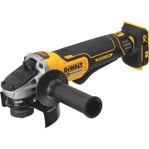 DeWalt 20 Volt MAX Lithium-Ion Brushless 4-1/2 In. Angle Grinder (Bare Tool)