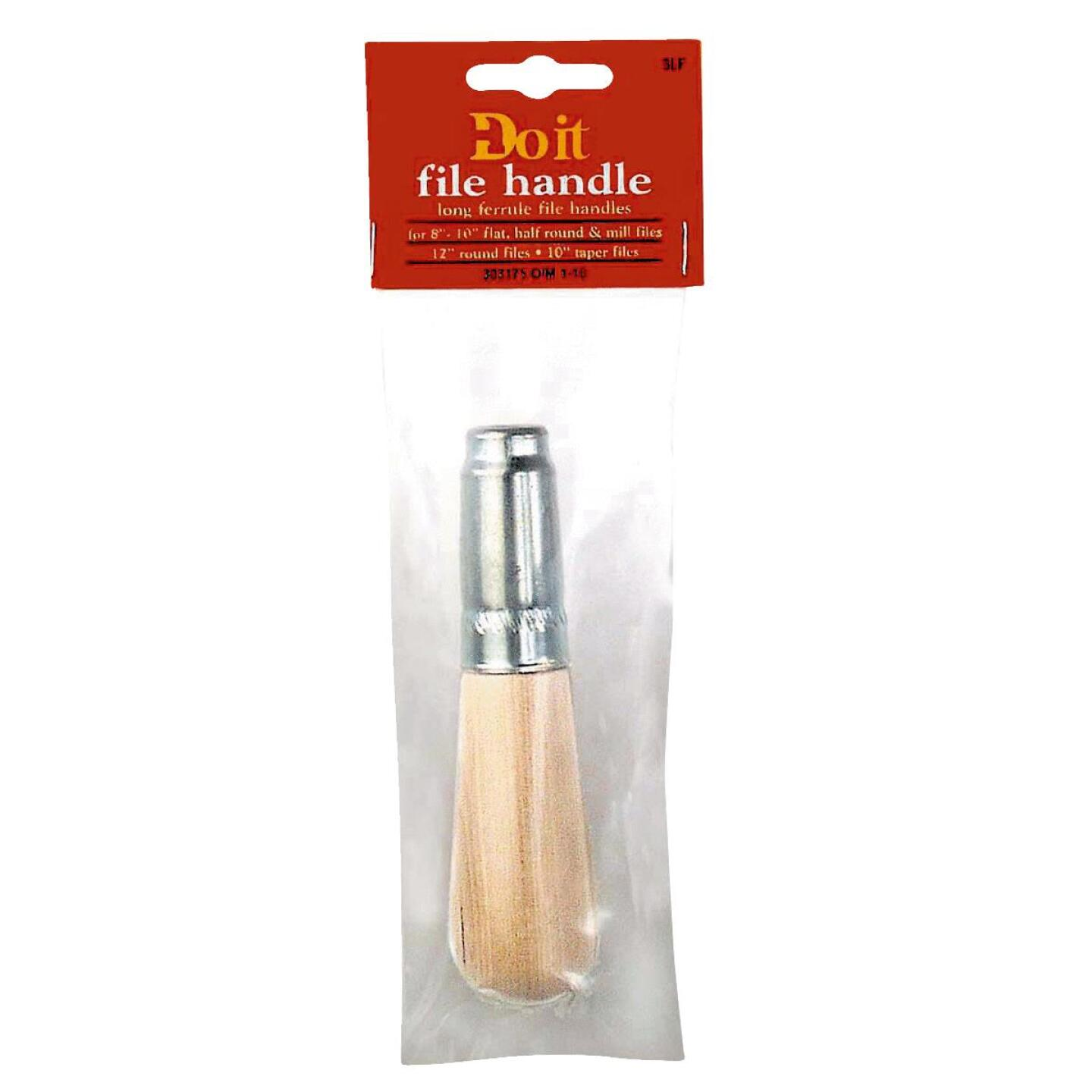 Do it Long Ferrule 5 In. L Wood File Handle for 8 to 12 In. File Image 1
