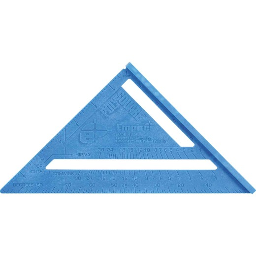 Empire 7 In. Plastic Polysquare Rafter Square