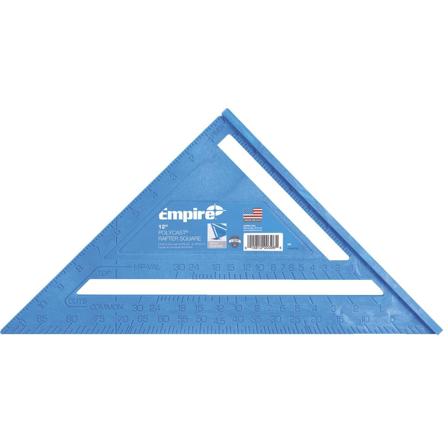 Empire 12 In. Plastic Polysquare Rafter Square Image 1