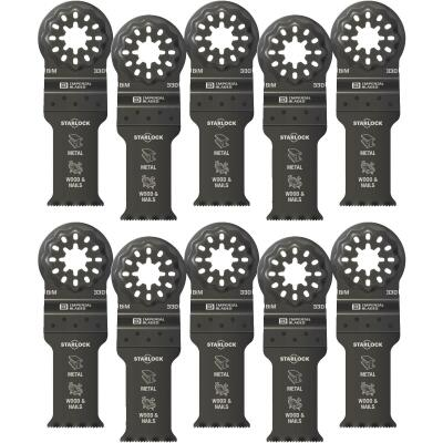 Imperial Blades Starlock 1-1/8 In. 18 TPI Metal/Wood Oscillating Blade (10-Pack)