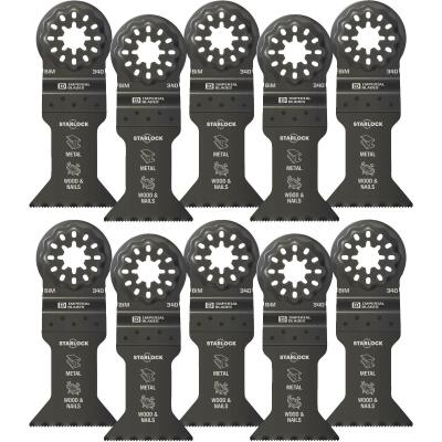 Imperial Blades Starlock 1-3/4 In. 18 TPI Metal/Wood Oscillating Blade (10-Pack)