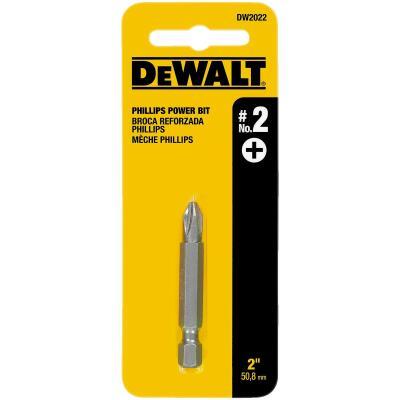 DeWalt Phillips #2 x 2 In. Power 2 In. Screwdriver Bit Display