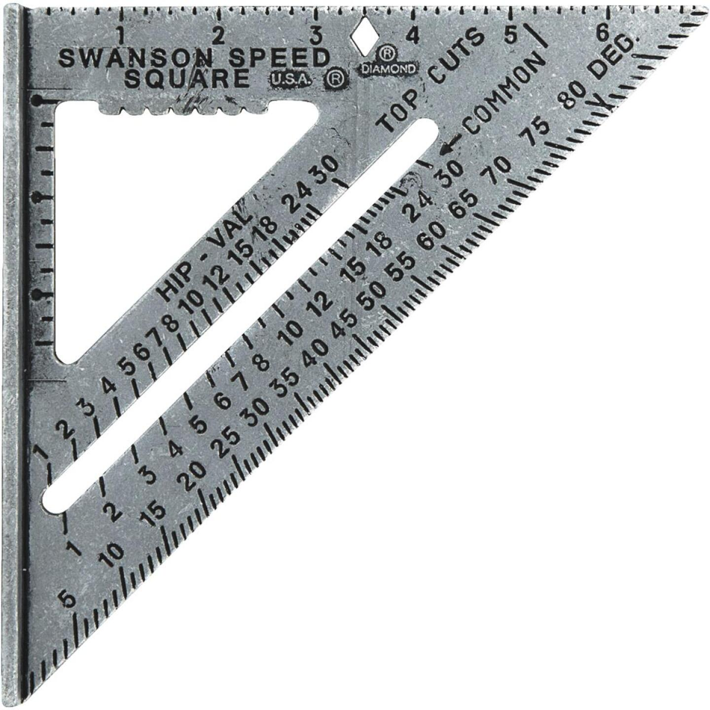 Swanson Speed 7-1/2 In. Aluminum Rafter Square Image 1