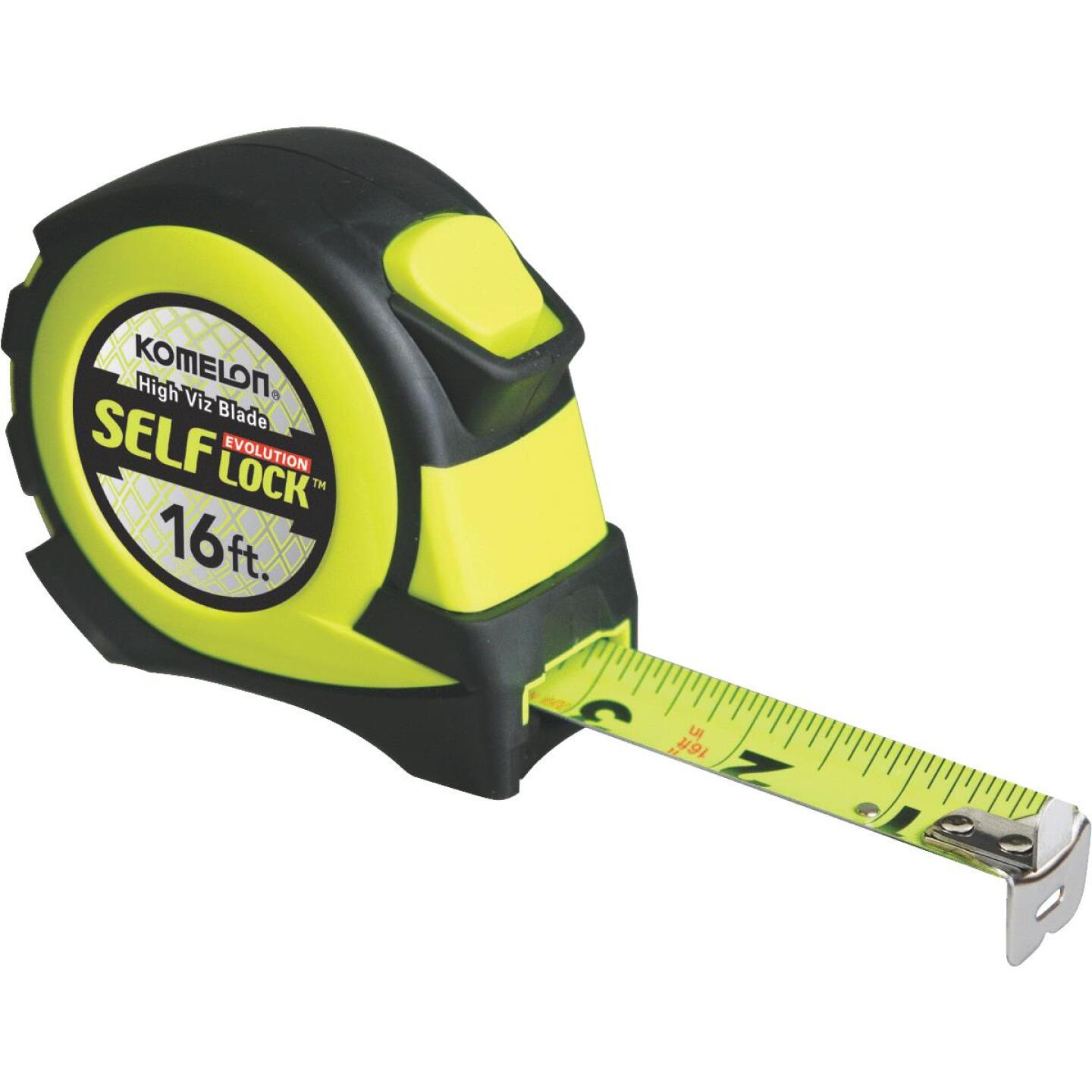 Komelon Evolution 16 Ft. Self-Lock Tape Measure Image 1