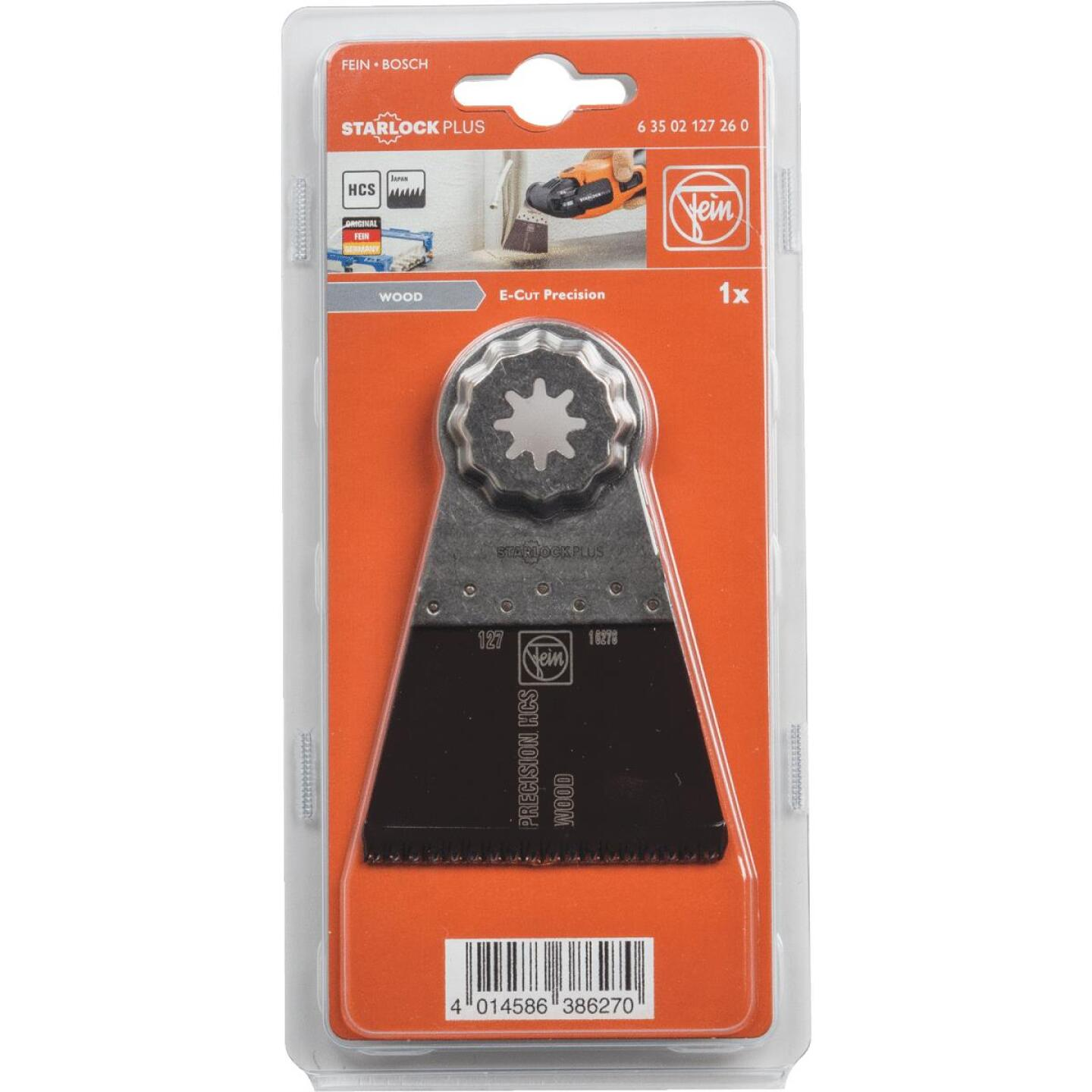 Fein Starlock 2-9/16 In. Steel Precision E-Cut Oscilating Blade Image 2