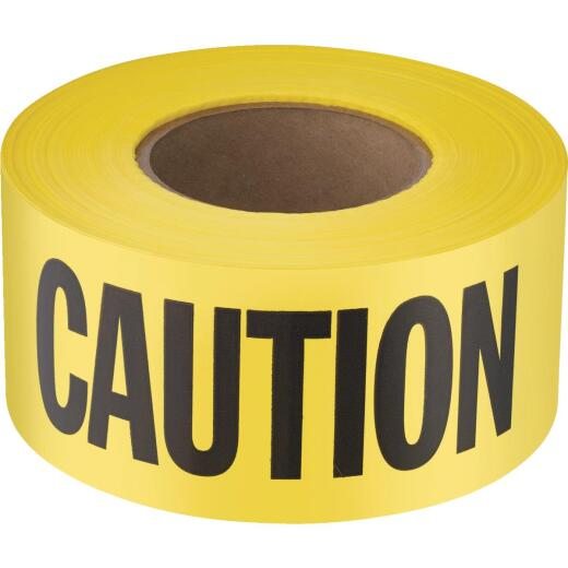 Empire 3 In. W x 1000 Ft. L Standard Caution Tape
