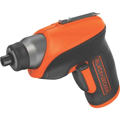 Black & Decker 4 Volt MAX Lithium-Ion 3/8 In. Cordless Screwdriver Kit
