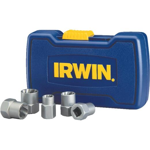 Irwin BOLT-GRIP 5-Piece Bolt Extractor Set