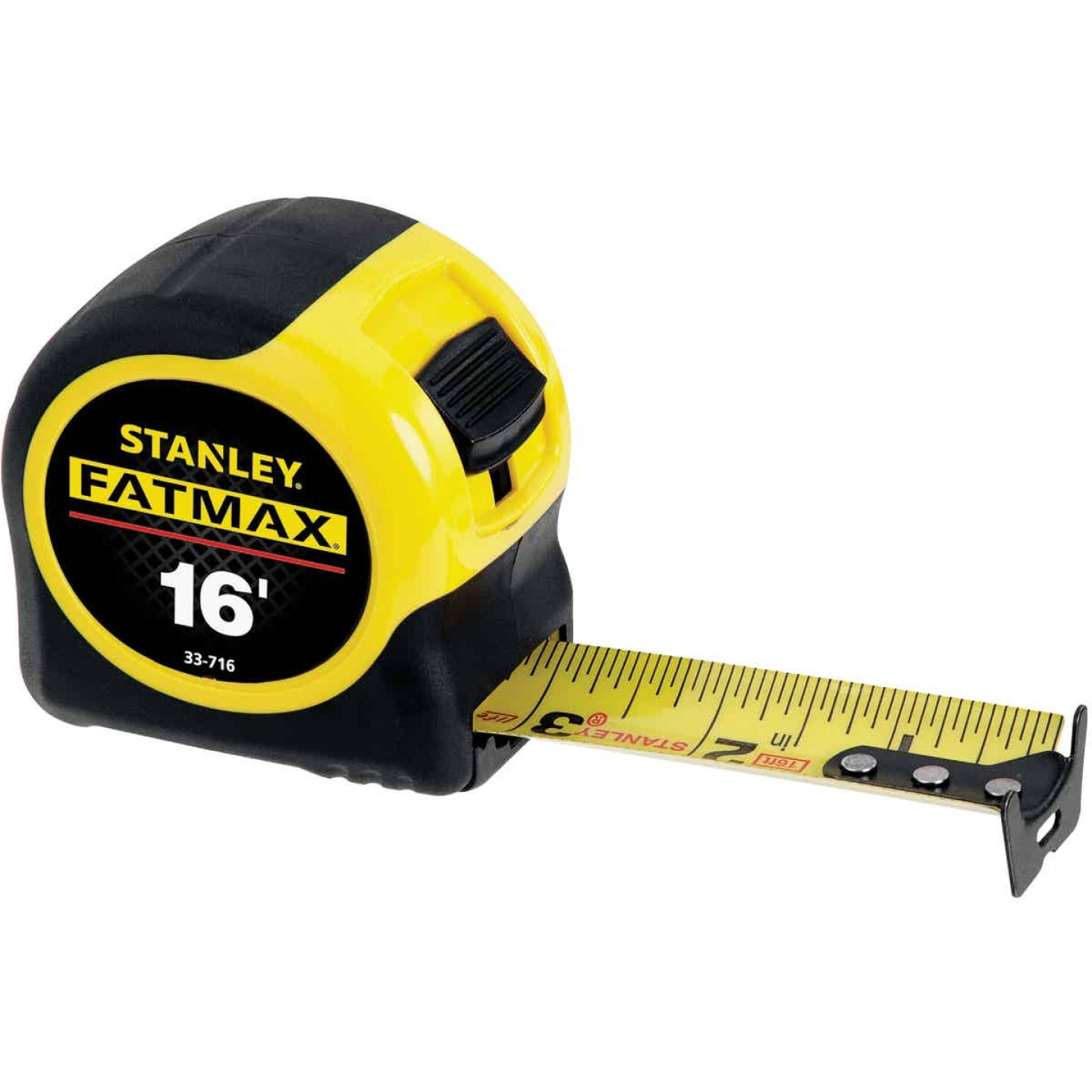 Stanley FatMax 16 Ft. Classic Tape Measure with 11 Ft. Standout Image 1
