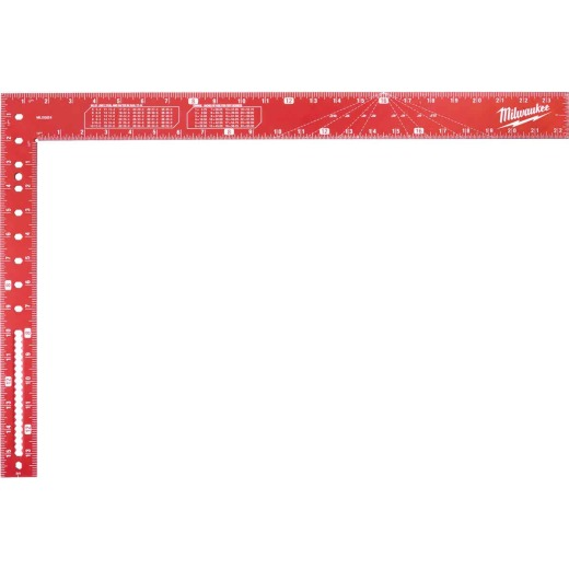 Milwaukee 16 In. x 24 In. Aluminum Carpenter's Square