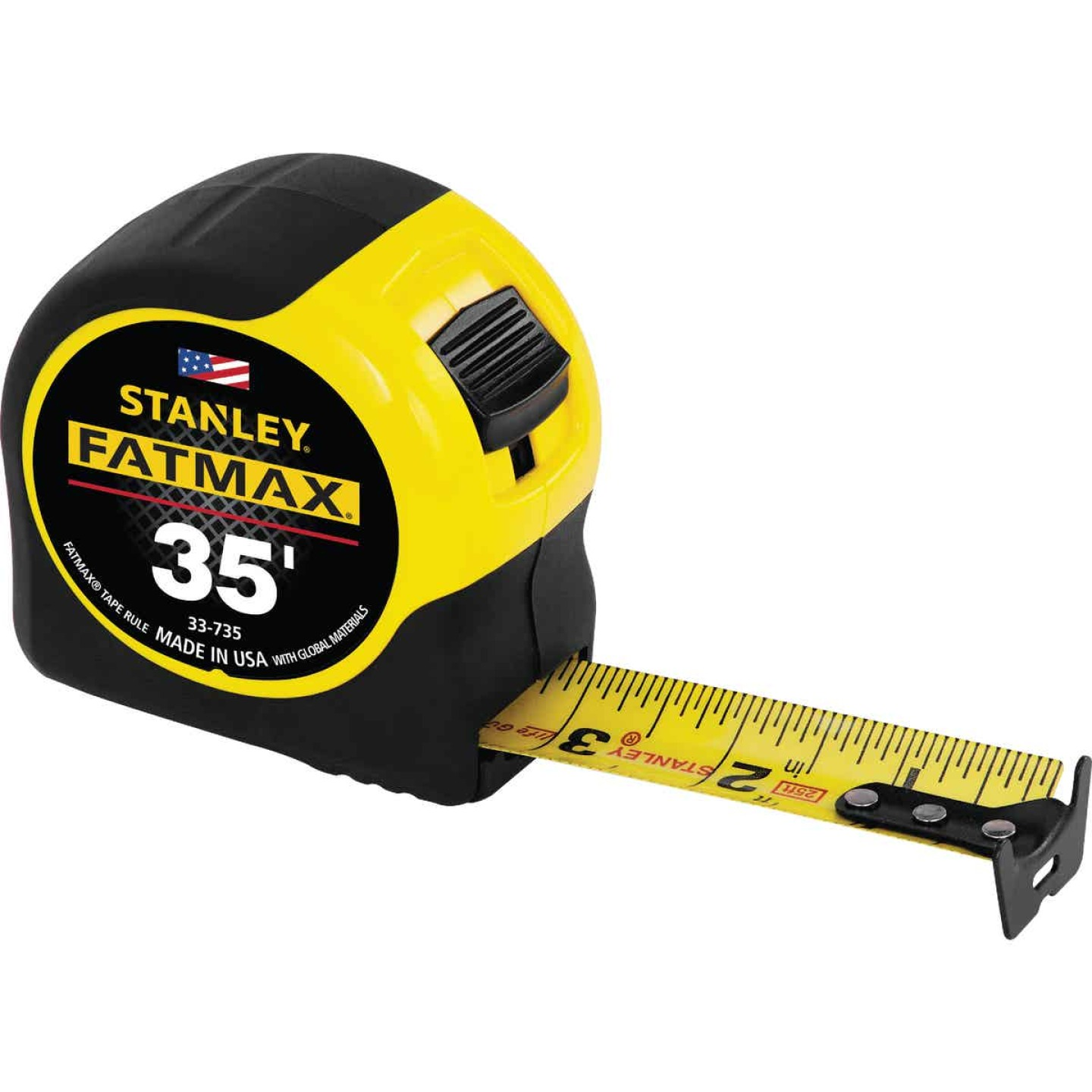 Stanley FatMax 35 Ft. Classic Tape Measure with 11 Ft. Standout Image 1