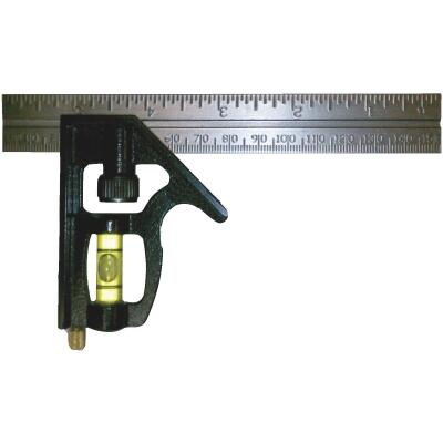 Johnson Level 6 In. English/Metric Professional Combination Square