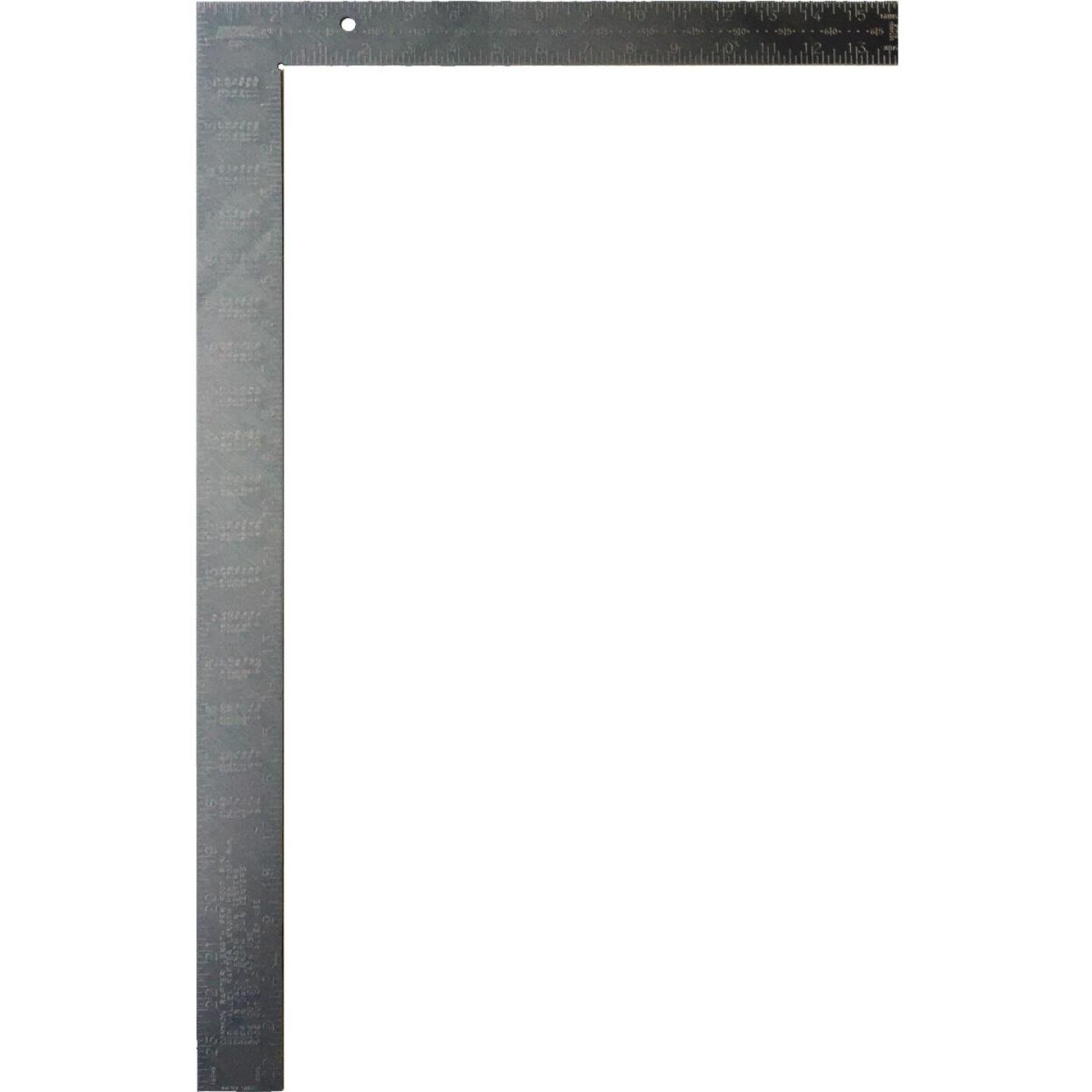 Johnson Level 16 In. x 24 In. Aluminum Carpenter's Square with Tables Image 1