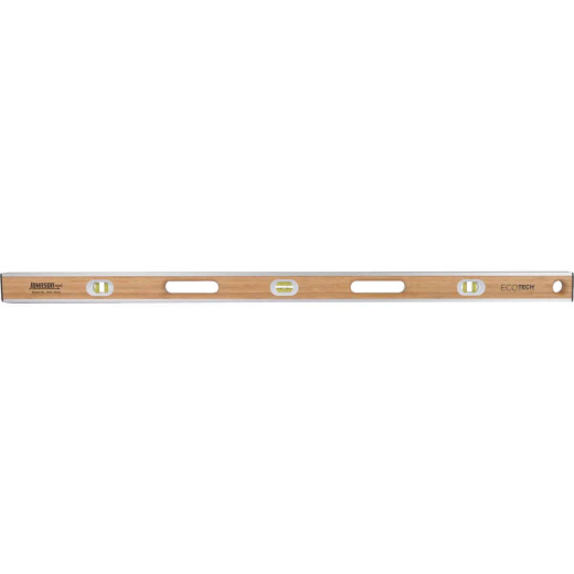 Johnson Level Eco-Tech 48 In. Bamboo Box Level
