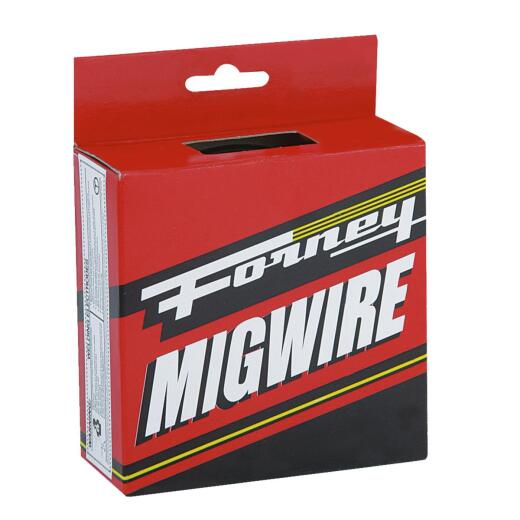 Forney E71T-GS 0.030 In. Flux Core Mild Steel Mig Wire, 2 Lb.