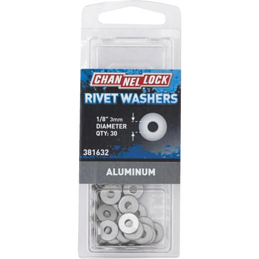 Channellock 1/8 in. Aluminum Rivet Washer (30-Pack)