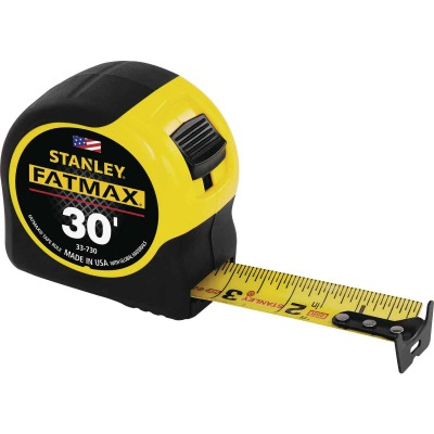 Stanley FatMax 30 Ft. Classic Tape Measure with 11 Ft. Standout