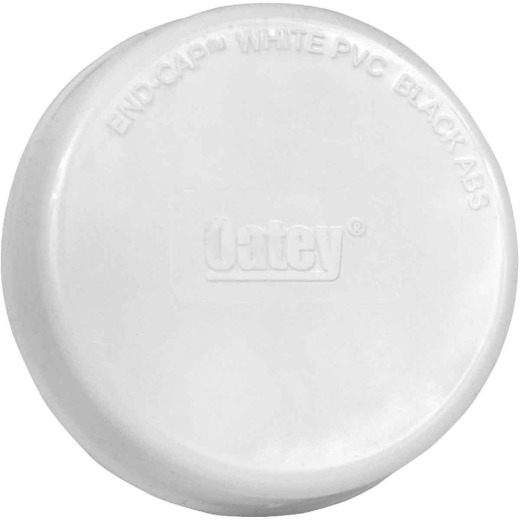 Oatey 3 In. Inset Plastic DWV End-Cap Test Cap