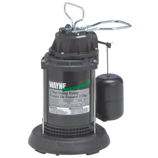Wayne SPF Series 1/2 HP 115V Submersible Sump Pump