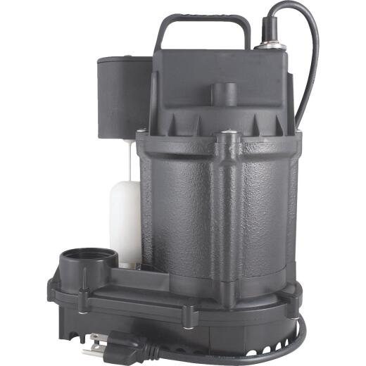 Do it Best 1/3 HP Cast-Iron Submersible Sump Pump
