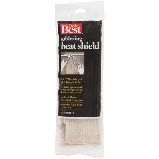 Do it Best 12 In. x 9 In. Fiberglass Soldering Heat Shield