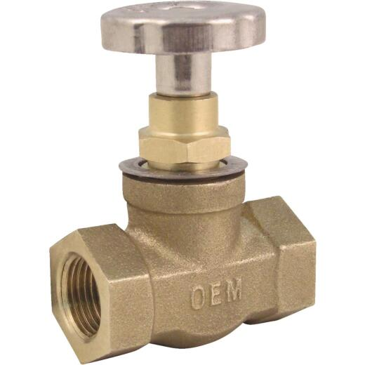 OEM 3/8 In. Female Oil Tank Fusible In-Line Safety Valve