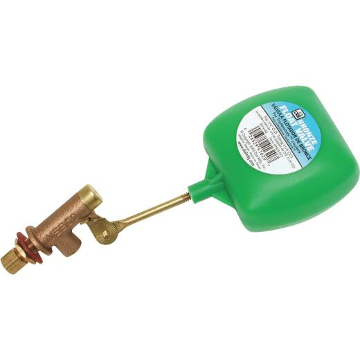 Dial 1/4 In. Brass Heavy-Duty Evaporative Cooler Valve with 3 In. Arm