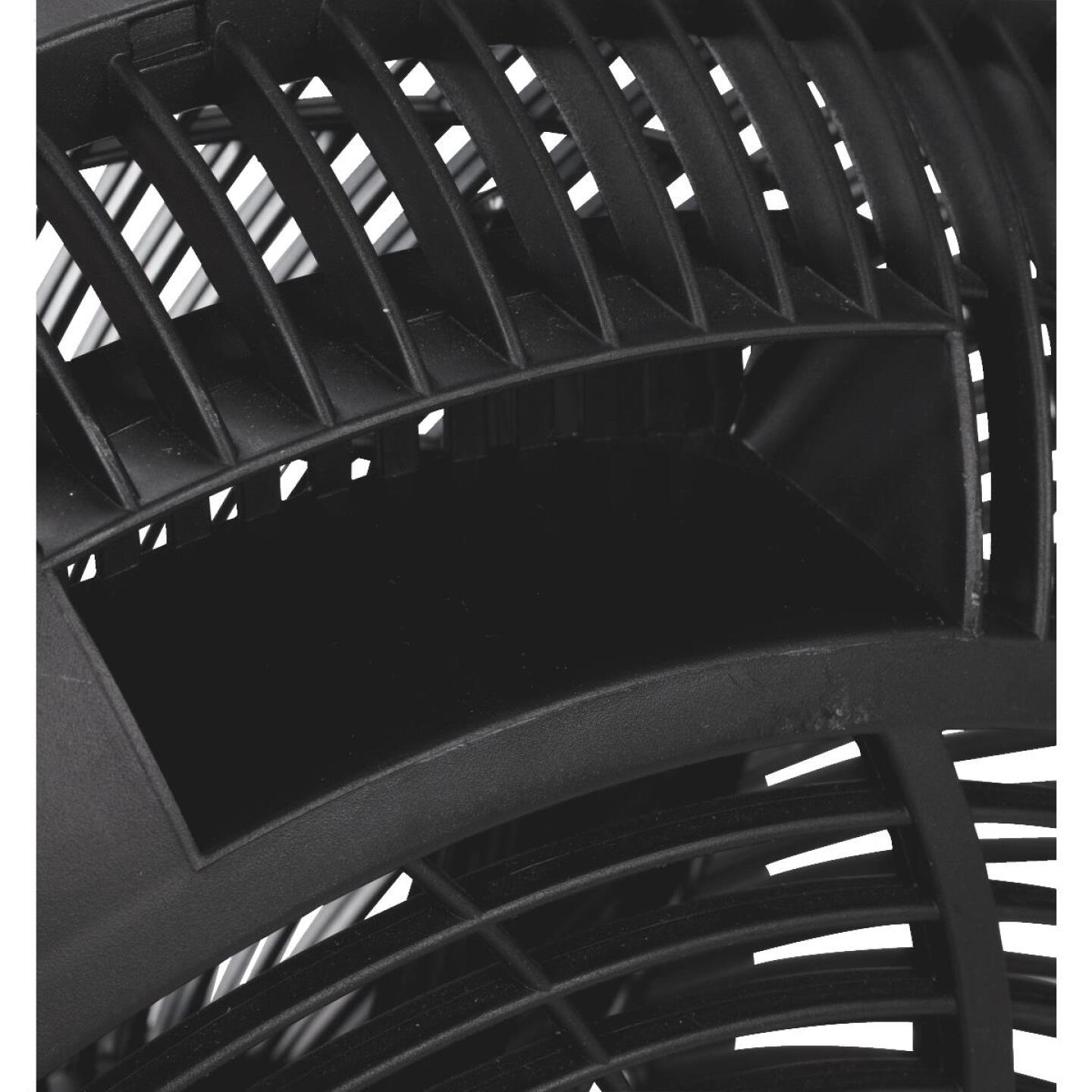 Best Comfort 16 In. 3-Speed Black Floor Fan Image 2